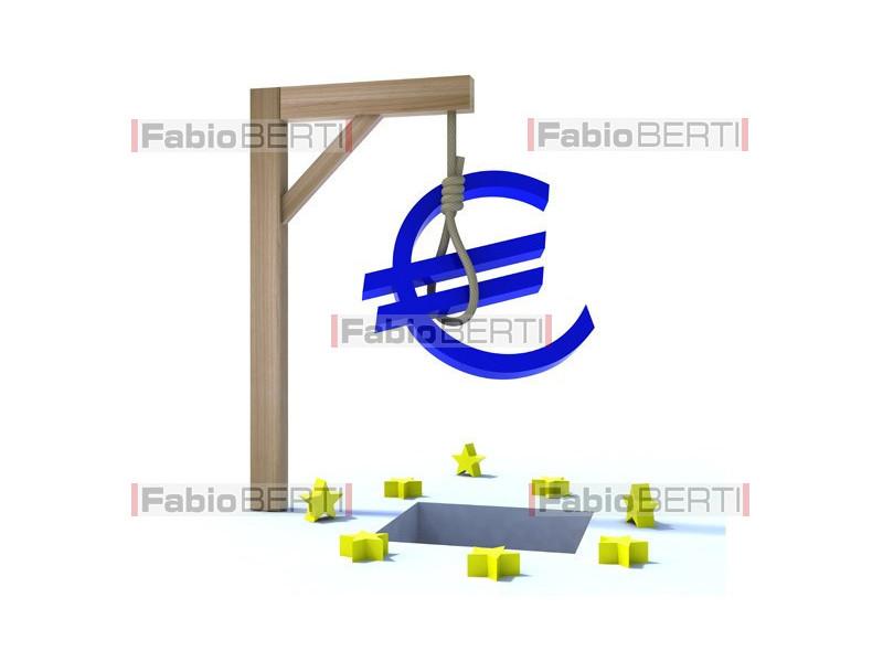 Euro suspended
