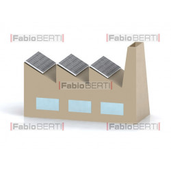 factory solar panels