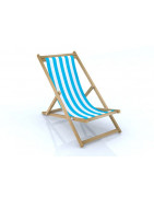 beach chairs in wood
